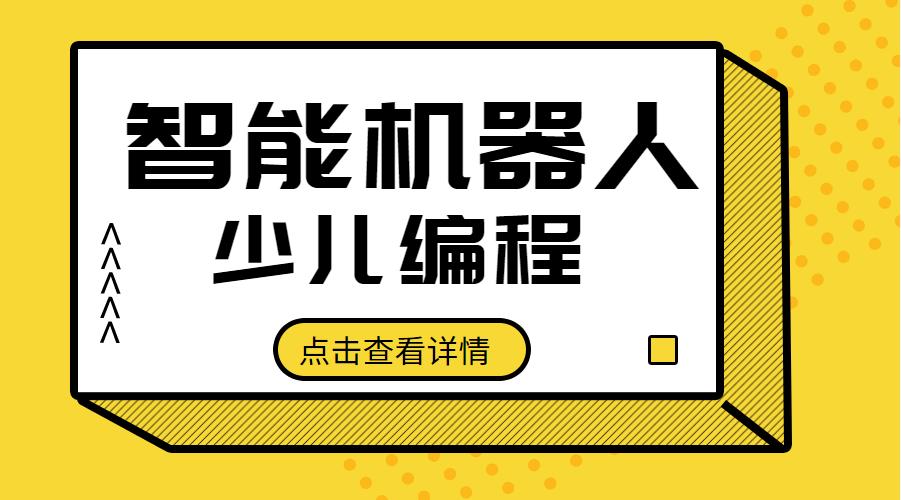 广州天河珠江新城智能机器人少儿编程