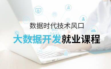 上海浦东职坐标大数据培训班